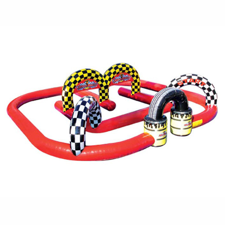 Commercial Wacky Trikes inflatable race track/Inflatable Car Track for sale