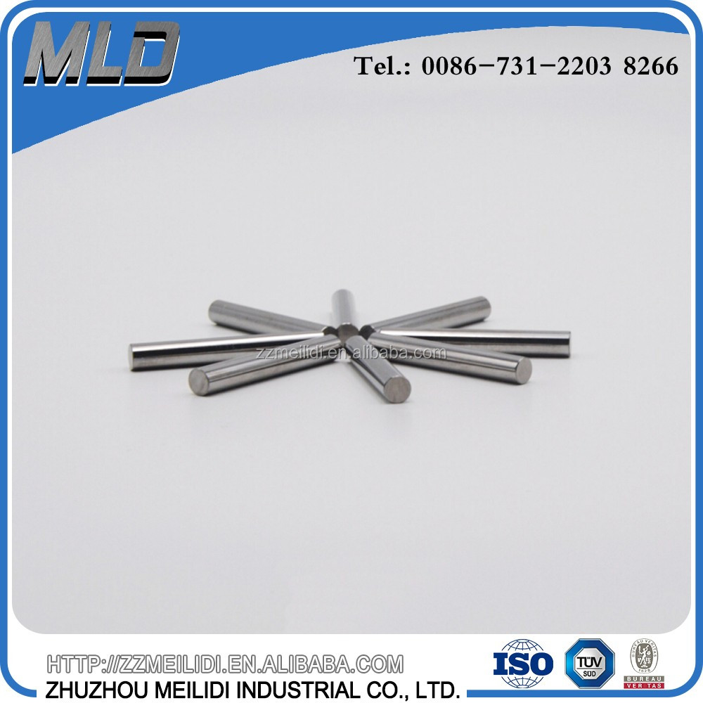 Premium grade hard metal carbide grinding rods for milling tools