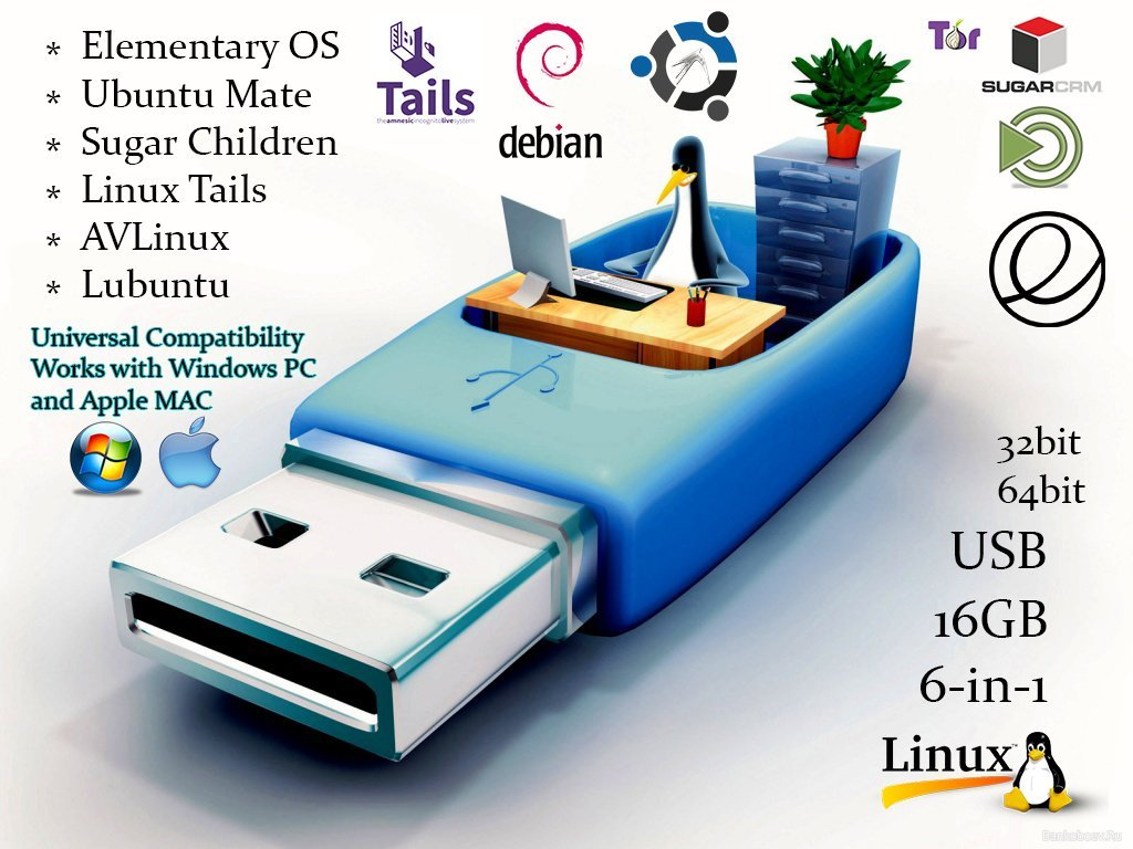 install ubuntu on 16gb flash drive