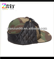 Winter Camo Dog Ear Volley 5 Panel Cap