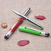 High Quality Promotional Metal Body Ipad Stylus LED Light Pen