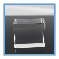 Superior Transparent Crytal Glass Cube for Laser Engraving;Accurately Polished Clear K9 Crystal Pieces for Bulk Wholesale