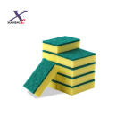 Cellulose kitchen dish wash cleaning sponge scouring pad