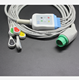 Compatible for Menen Envoy ECG 5 Lead ECG Cable and Leadwires IEC Snap 12Pin ECG Cable Surgical Supplies