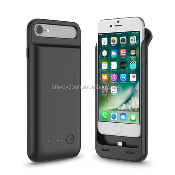 TPU foldable style original charge& sync battery case charger for iPhone 7/6/6S with MFi CE RoHS FCC
