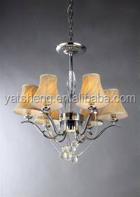 wholesale Europe style chrome crystal pendant lamp chandelier