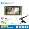Double Din Multimedia Audio DVD Player Car Radio for Toyota Hilux Navigation Radio with Bluetooth 3G Wifi