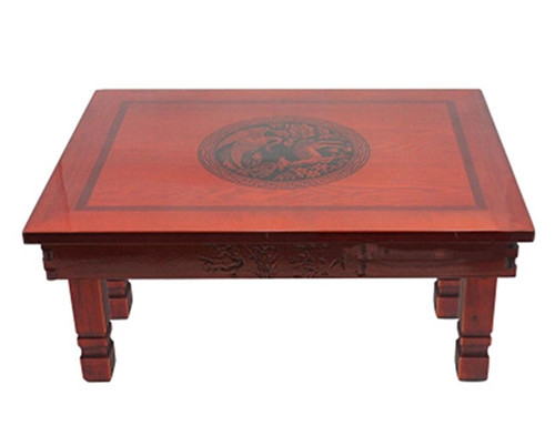 Get Quotations Korean Dining Table Folding Legs Rectangle 70 48cm Living Room Antique Tea Traditional