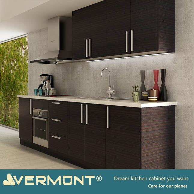 2018 Vermont Bestseller Modern Aluminium Kitchen Cabinet With