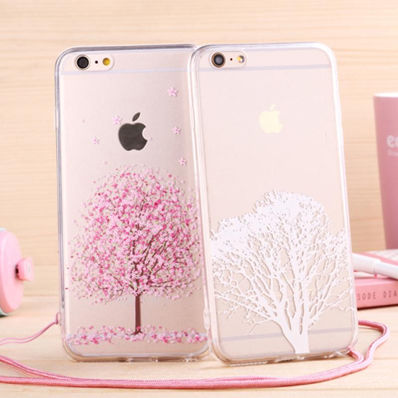 Newest fashion Japan sweet cherry blossom Phone Case soft ...