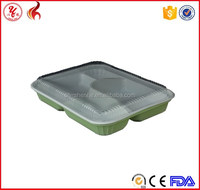 Recyclable plastic tupperware food container