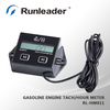 Digital Motorcycle RPM Meter Hour Meter Tachometer