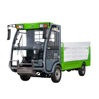 Motorized Small Dump Garbage transporting truck