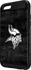 NFL Minnesota Vikings iPhone 6 Cargo Case - Minnesota Vikings Black & White Cargo Case For Your iPhone 6