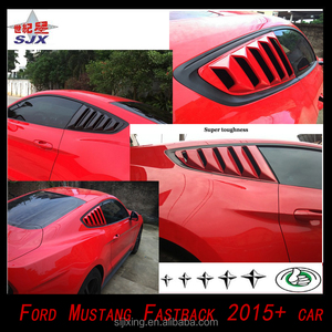 for Fords Mustang Fastback2015-2016 car for new fords MUSTANG FASTBACK door spoiler