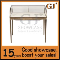 High Quality Acrylic Counter Top Jewelry Display Stand Rack Custom Design Jewelry Mall Kiosk
