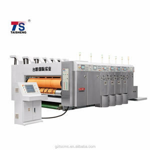 TSV-920 Flexo Printer Slotter Die Cutter machine,Carton Making Machine multicolor color Printing machine