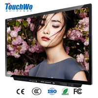 "55"" touch 4k ultra hd digital signage led display"