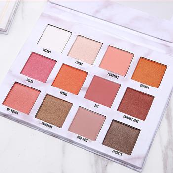 makeup marble eyeshadow palette waterproof beginner