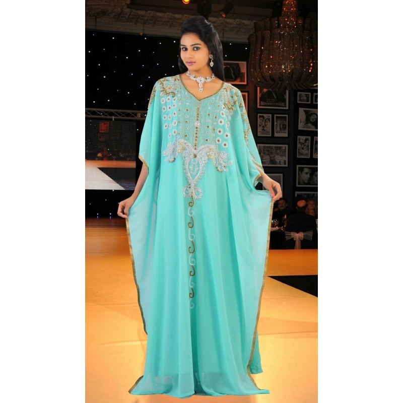 Buy 2016 Kaftan Dubai Arabic Evening Dresses Plus Size Hand Made