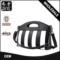 Free sample stripe bag pack leather