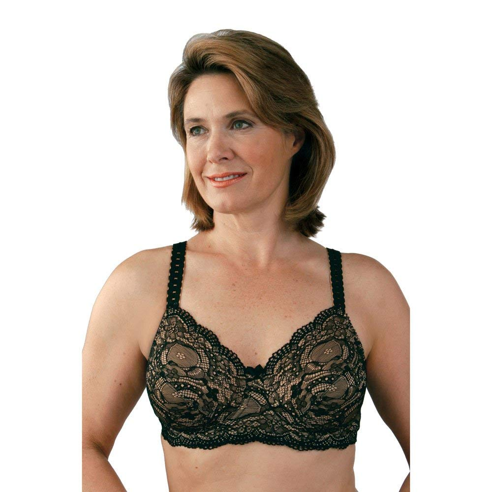 f81ecd6f61 Get Quotations · Post Mastectomy Romantic Camisole Bra