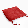 100% Polyester Solid Red Velvet Fabric Office Chair Seat Memory Foam Cushion