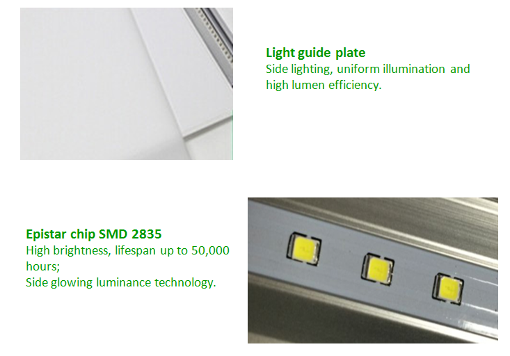 led panel lighting supplier 50w oled light panel ip44 rating led light fittings with ce rohs