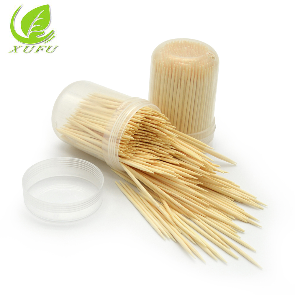 Chine Approvisionnement Direct D'usine de Cure-Dents Cure-Dents En Bois et Bambou Cure-Dents