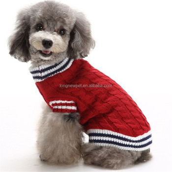 Pet Shop Supplier Winter Puppy Clothes Crochet Dog Sweater Buy