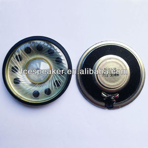 57mm 16ohm 0.05w small round raw speaker for headphone