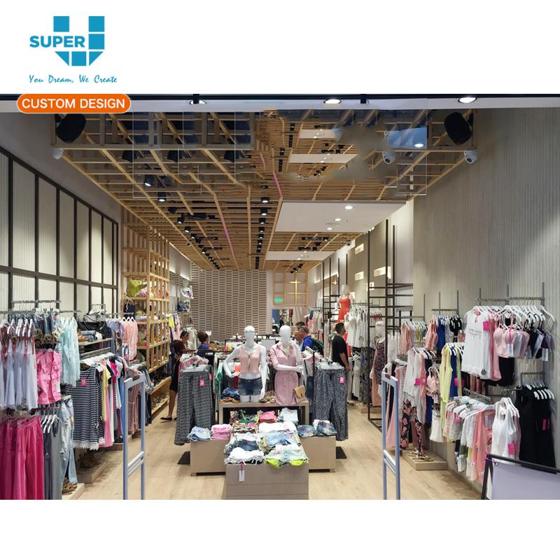 6a654172e أفضل خدمة رخيصة خياط صنع خارج الأمد متجر الملابس التصميم الداخلي ...