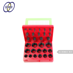 382Pcs 385Pcs 377Pcs AS568 /metric/JIS NBR o ring kit o-ring box