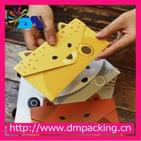 Create Cute Animal Style Paper Kraft Envelope Korean Greeting Card Stationery Wholesale