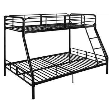 Home Furniture Easy Assembly Kd Metal Frame Powder Coating Bunk Bed