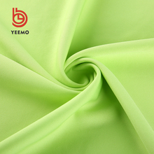 Wholesale custom 95% T 5% OP silk jersey knit fabric rolls