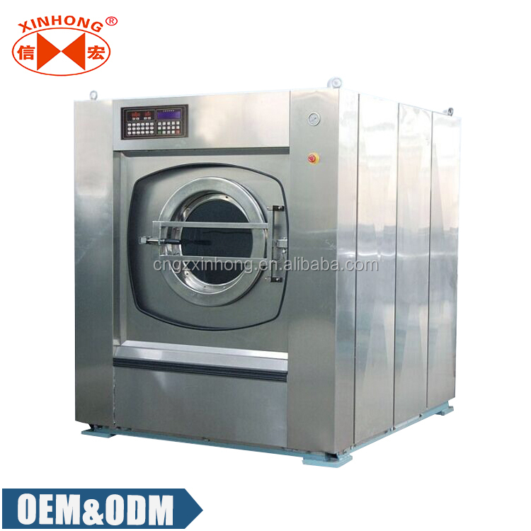 Xinhong 100kg Capacity Laundry Shop Washing Machine/used Laundry Equipment  For Sale - Buy Laundry Shop Washing Machine,Used Laundry Equipment For Sale
