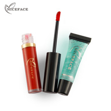 Makeup Matte Lipstik Cair & Pembersihan <span class=keywords><strong>Gel</strong></span> Tahan Air Seksi Bibir Lip Gloss Make Up <span class=keywords><strong>set</strong></span> Kombinasi <span class=keywords><strong>Kosmetik</strong></span> <span class=keywords><strong>Set</strong></span>