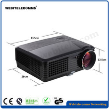 HD 1080p Cheap LED Home Theater Projector Mini 3D LED Home LED Projector