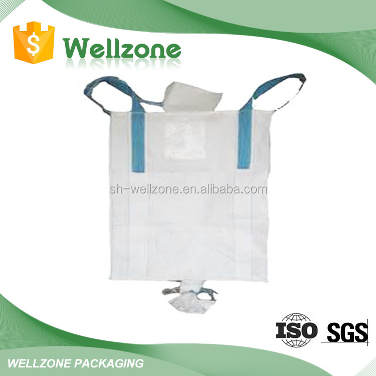 Side-Seam Loop Loop Option and Flat Bottom Bottom Option china pp big bag FIBC
