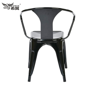 5 stackable chairs with arms metal price steel chairs for restaurant