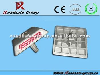Roadway security Aluminum Road Stud With High Reflector