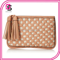 Ladies Classy Newest Tassel Retro Layered Fringed Clutch Bags