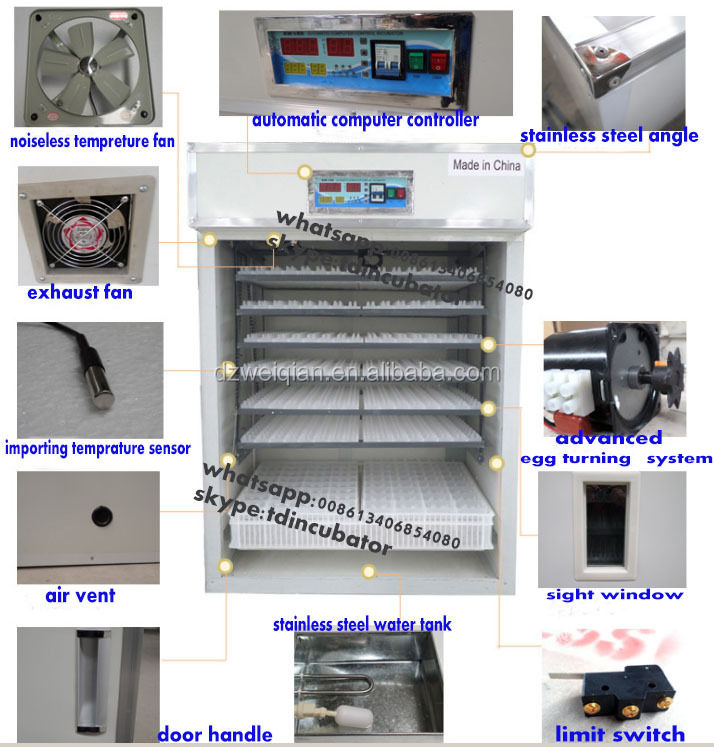 Best selling products chicken machine incubator for haching chicken eggs