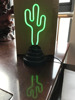 hot sale china factory price cactus neon table light