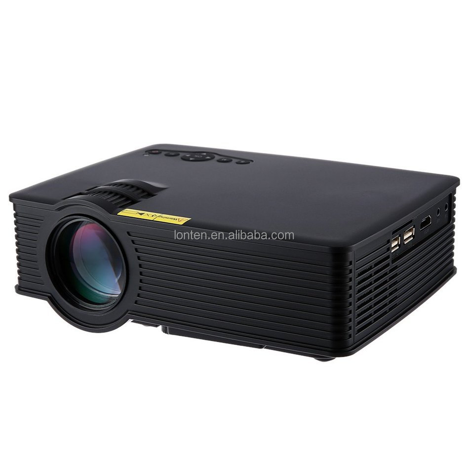 GP - 9 Mini Home Business Education Engineering Theater 800 Lumens 1080P Multimedia HD HDMI USB LCD Video Digital <strong>Projector</strong>