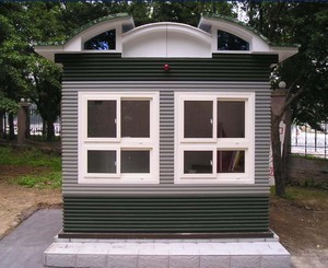Easy install, movable prefab, small and tiny, sandwich panel prefab house