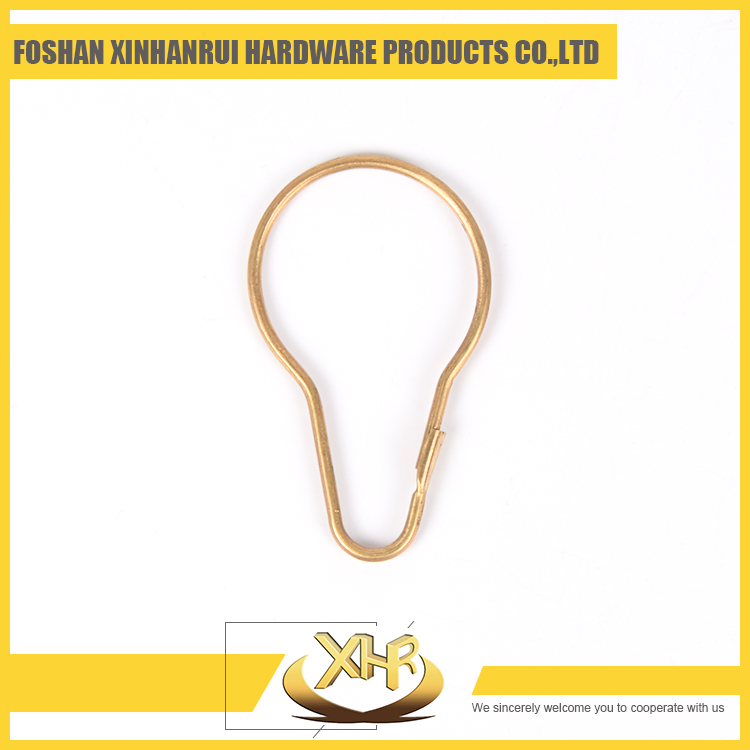 Metal bronze shower curtain hook manufactor