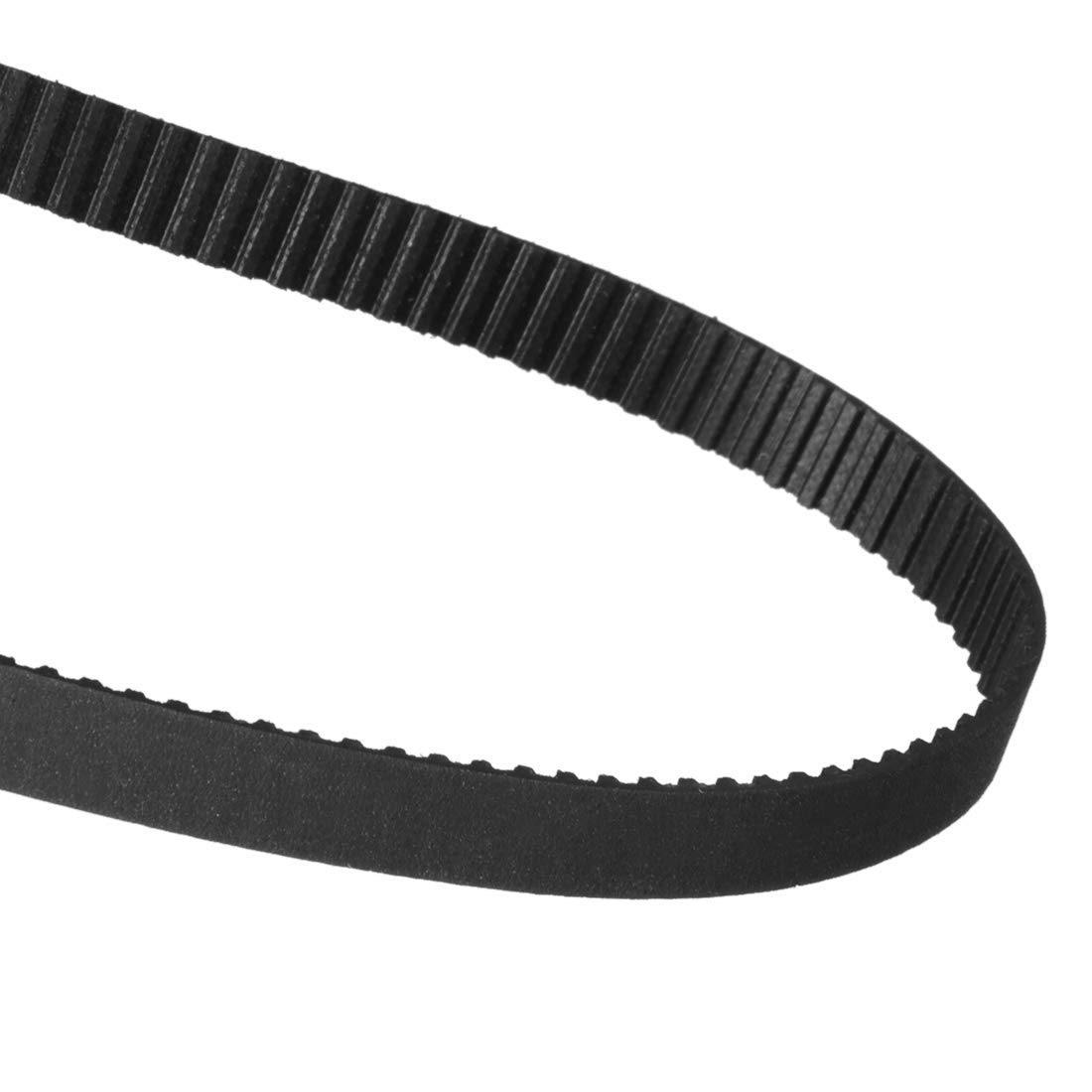 uxcell 350XL Rubber Timing Belt Synchronous Closed Loop Timing Belt Pulleys 10mm Width