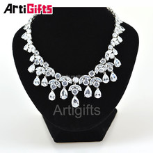 Water Drop shape Fashion Jewelry Elegant Necklace